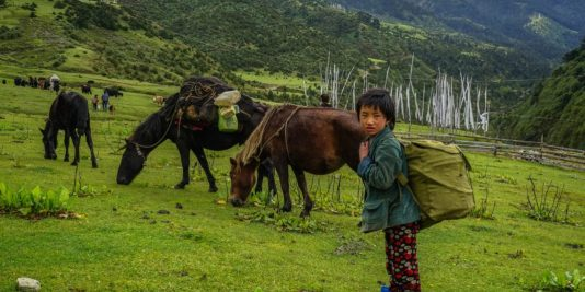 In the Valley of the Yeti – Merak, Bhutan