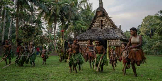 Traveling the Sepik River - Papua New Guinea
