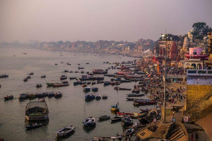 The Ganges River Varanasi, India