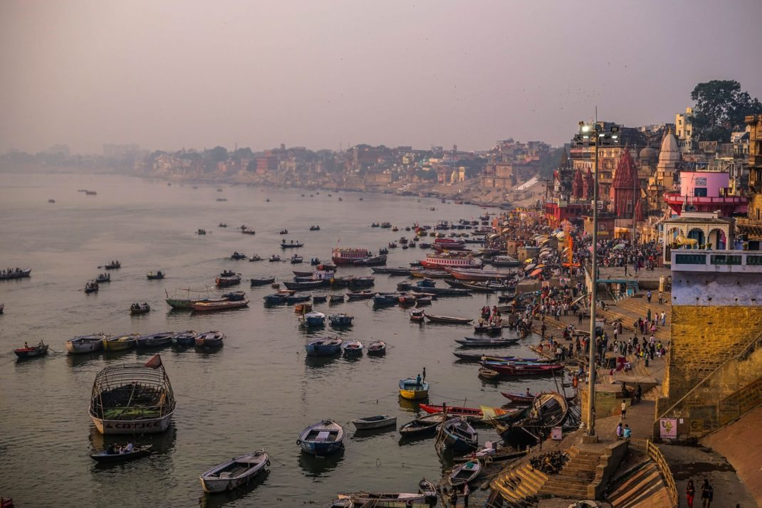 The Ganges River Varanasi, India