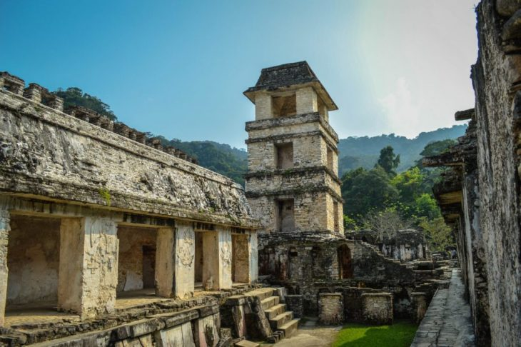 Palenques temples