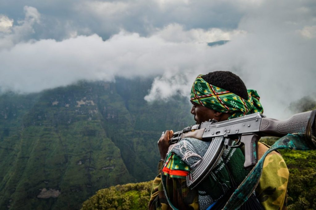Trekking Guide Simien Mountains National Park Ethiopia