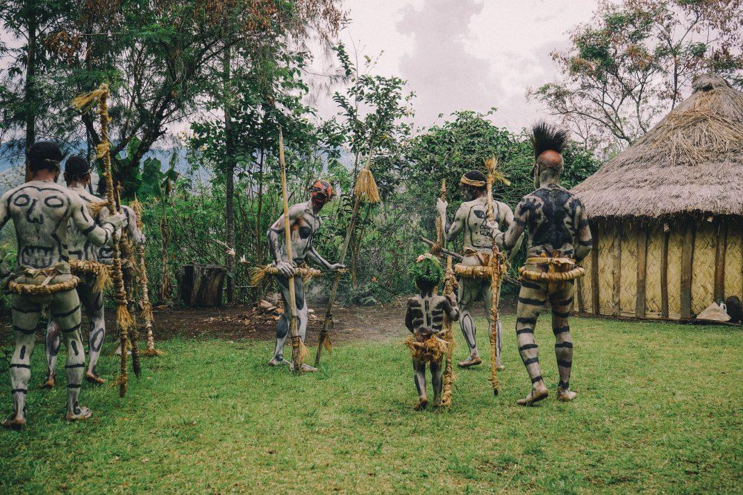 Visiting the Asaro Mudmen - Goroka, Papua New Guinea