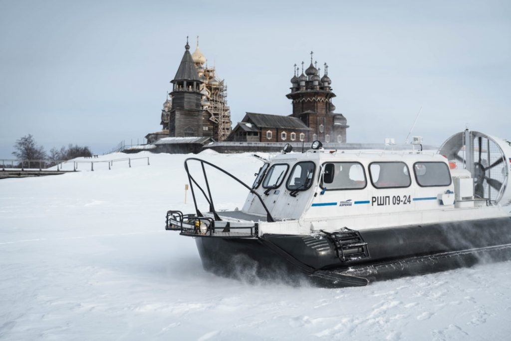 Hovercraft to Kizhi Island and Lake Onega, Russia