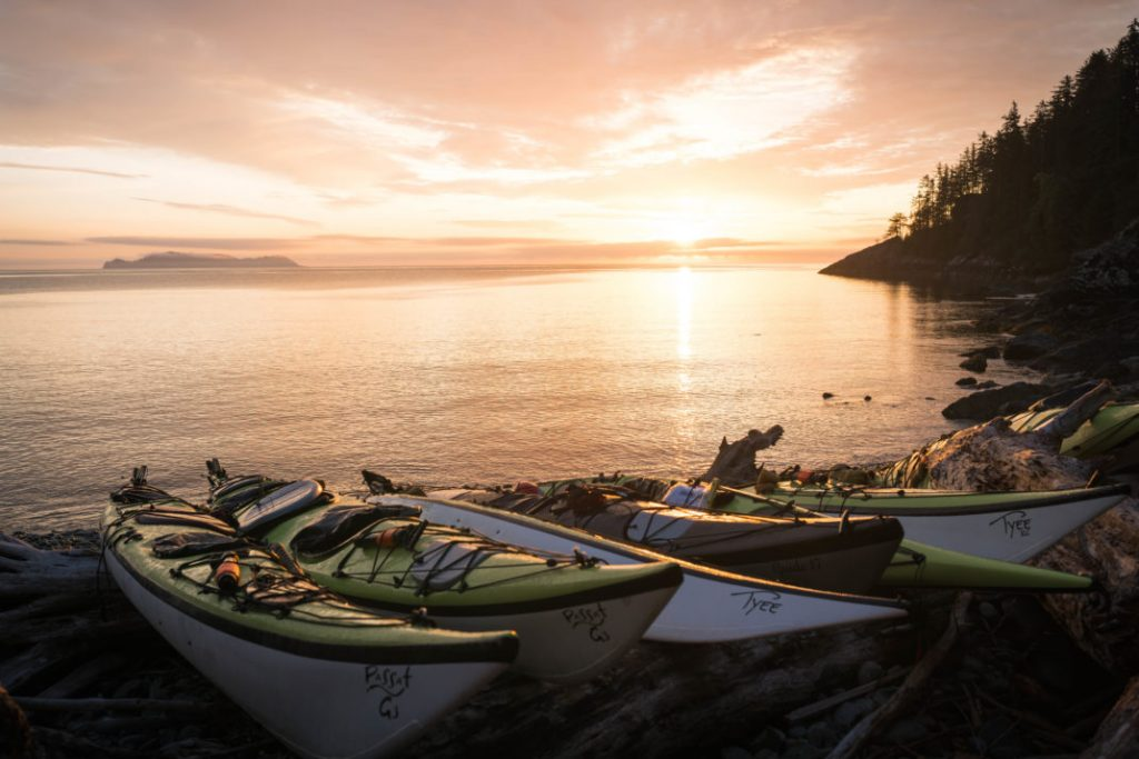 Kayaking Gwaii Haanas National Park, Canada