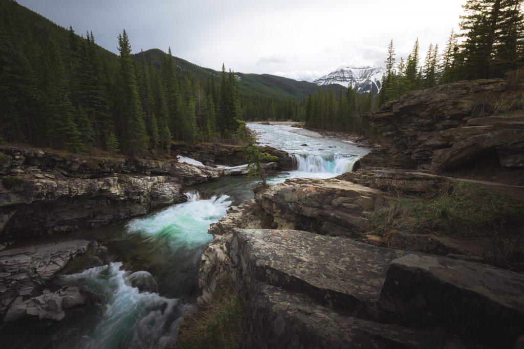 Motorcycle Trip – Sheep River Falls, Kananaskis Provincial Park, Canada
